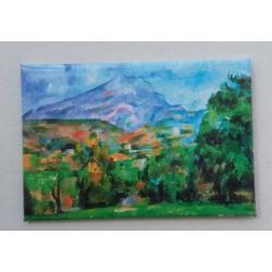 Magnet Cézanne Ste Victoire 02