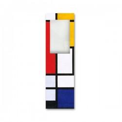 Marque Page Loupe Mondriaan