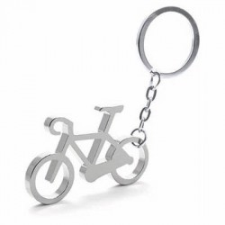 Porte-Clés Métal Vélo Gris