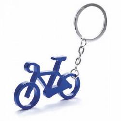 Porte-Clés Métal Vélo Bleu