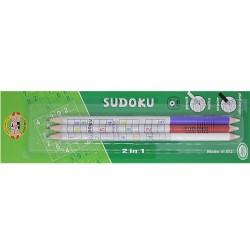 Crayons à Papier Gomme SUDOKU