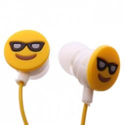 Ecouteurs Smiley Emoti Lunettes de Soleil