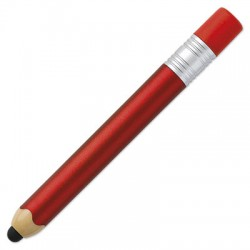 Stylo Stylet Tactile Rouge