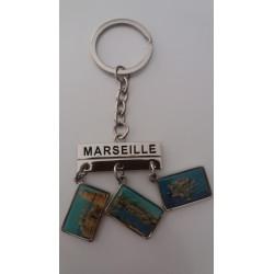 Porte-Clés 6 images Marseille