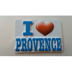 "Magnet 2D "" I Love Provence"""