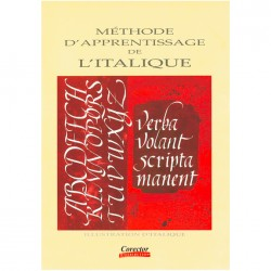 Livre Méthode d'Apprentissage de Calligraphie Italique