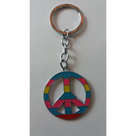 Porte-clés Peace & Love Best Friend