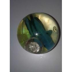 Balle Rebondissante Lumineuse Poisson Ange (Jaune)