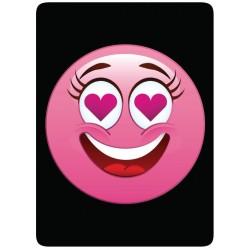 Sticker Cleaner Smiley Emoti Coeurs Roses