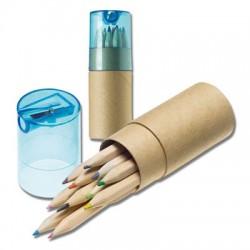 Tube duo crayons de couleur