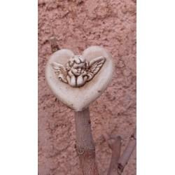 Magnet Coeur Ange