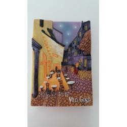 """Magnet Résine """"La Terrasse"""" Van Gogh 03"""