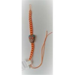 Bracelet Jour des Morts Mexicains Jaune/Orange
