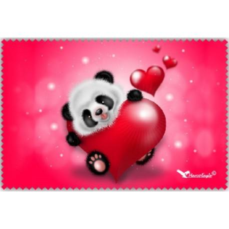 Chif' Fou' Net Panda Coeurs