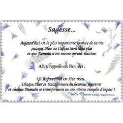 """Chif' Fou' Net Poème sur """"La Sagesse"""""""