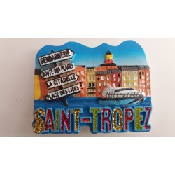 Magnet Résine Saint Tropez Direction