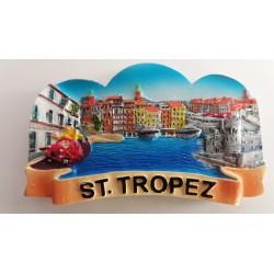 Magnet Résine Saint Tropez Port