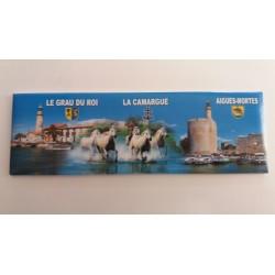 Magnet Panoramique Camargue - Grau du Roi - Aigues Mortes