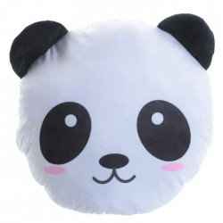 Coussin Moelleux Peluche Panda