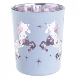 Lot de 2 Porte-bougie Photophore - Licorne