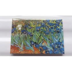 Magnet Van Gogh Les Iris Saint Rémy de Provence