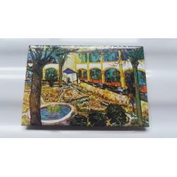 Magnet Van Gogh Le Jardin de la Maison de Santé à Arles