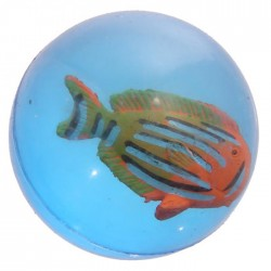 Balle Rebondissante Poissons Tropicaux 1