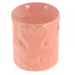Brûleur A Huile Céramique Flamant Rose