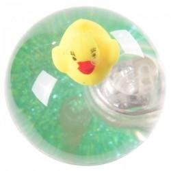 Balle Rebondissante Lumineuse Canard (Vert)