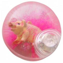 Balle Rebondissante Lumineuse Cochon