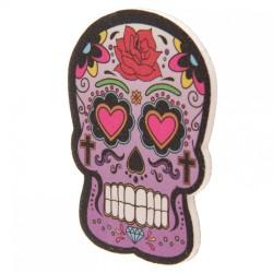 Lime à Ongles Jour des Morts Mexicains Violet