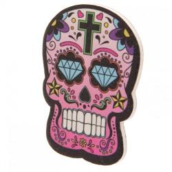 Lime à Ongles Jour des Morts Mexicains Rose