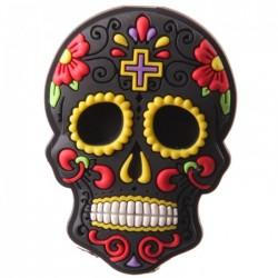 """Magnet  """"Jour des Morts Mexicains"""" Noir"""