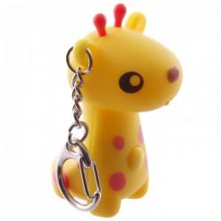 Porte-Clef Lumineux et Sonore Girafe 1