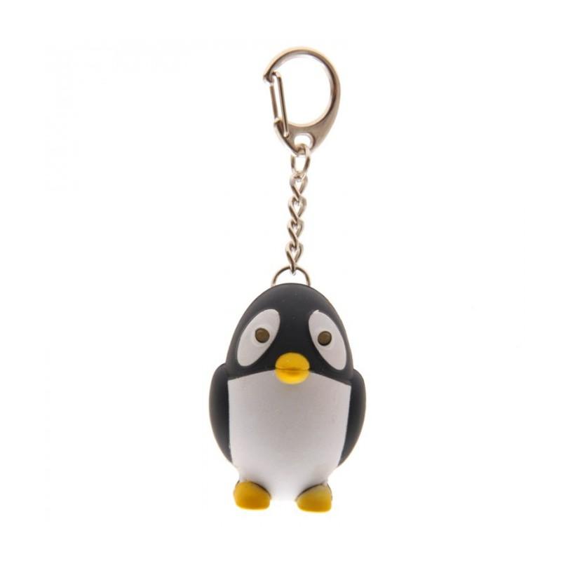 Porte cl s lumineux et sonore pingouin marcoeagle for Decoration porte pingouin
