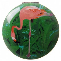 Miroir Flamant Rose 2