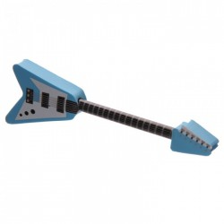 Crayon et Gomme Guitare Electrique Bleu