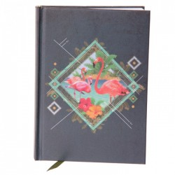 Carnet de Note Flamant Rose