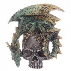 Magnet Dragon sur Crâne (Vert)