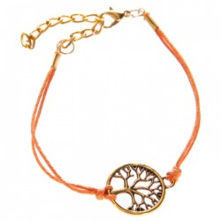Bracelet Arbre de Vie Orange