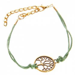 Bracelet Arbre de Vie Vert