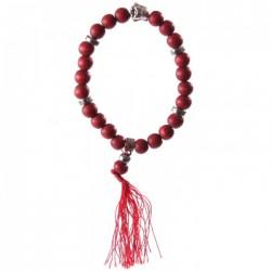 Bacelet Mala Boudha Rouge