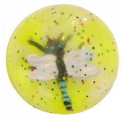 Balle Rebondissante 3D Libellule 1 (Jaune)
