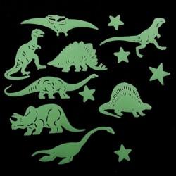 Dinosaures et Etoiles Fluorescents