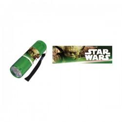 Lampe Torche de Poche à Leds Star Wars (Vert)