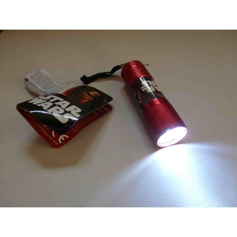 lampe torche de poche leds star wars rouge marcoeagle. Black Bedroom Furniture Sets. Home Design Ideas