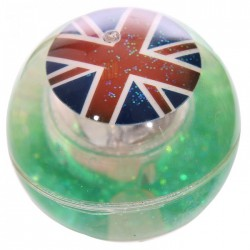 Balle Rebondissante Lumineuse Drapeau Anglais (Vert)