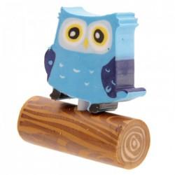 Gomme Hibou (Bleu)