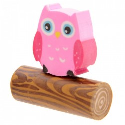 Gomme Hibou (Rose)