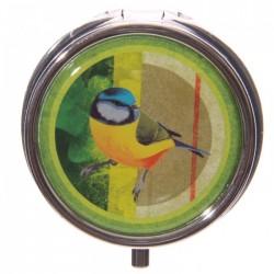 Boîte à cachets Oiseaux (Vert)
